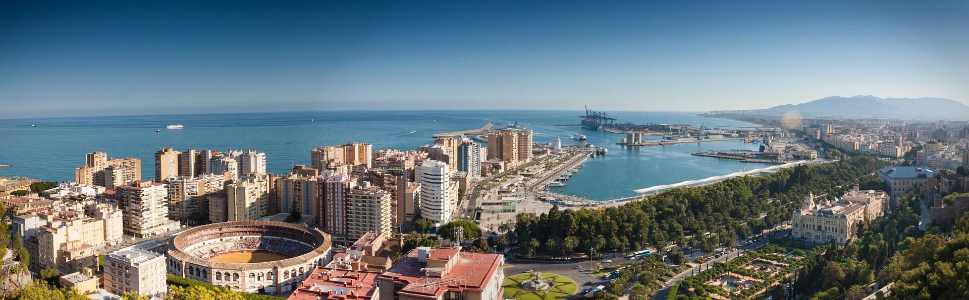 Direktflüge und Billigflüge ab Frankfurt nach Málaga