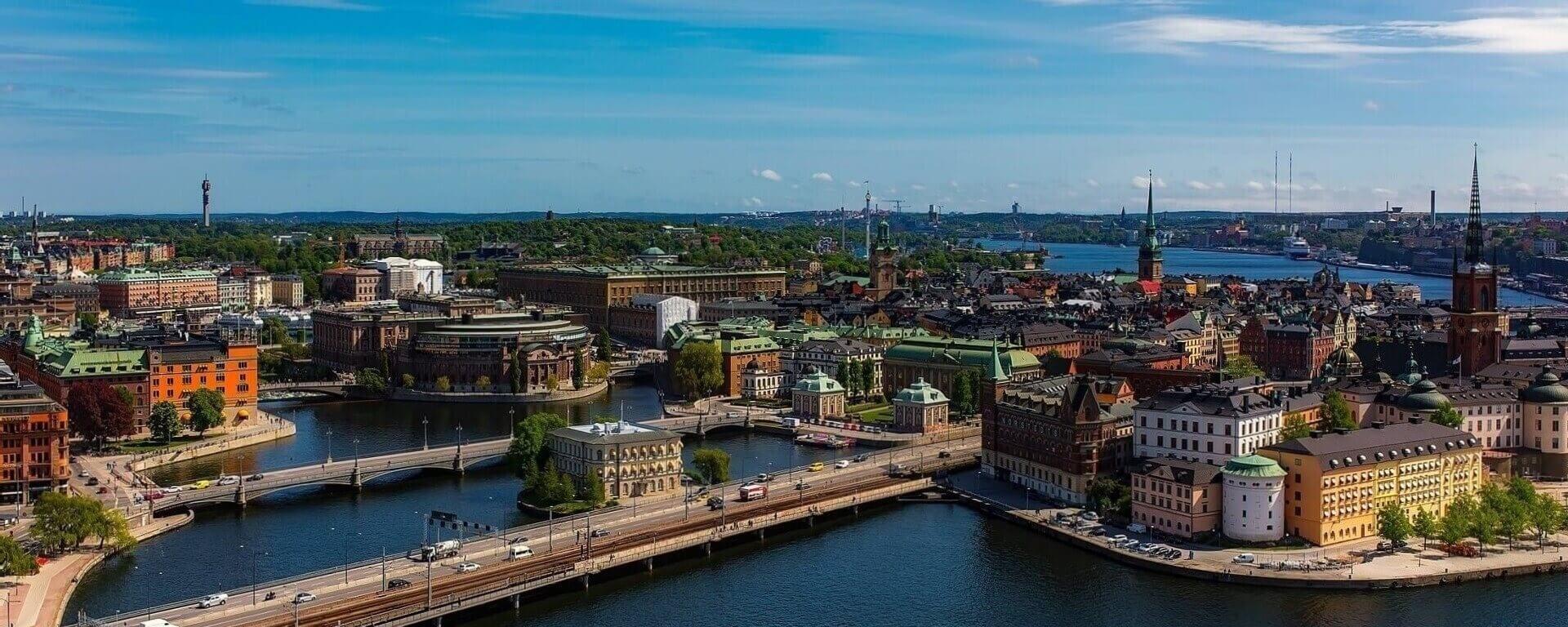 Direktflüge und Billigflüge nach Schweden
