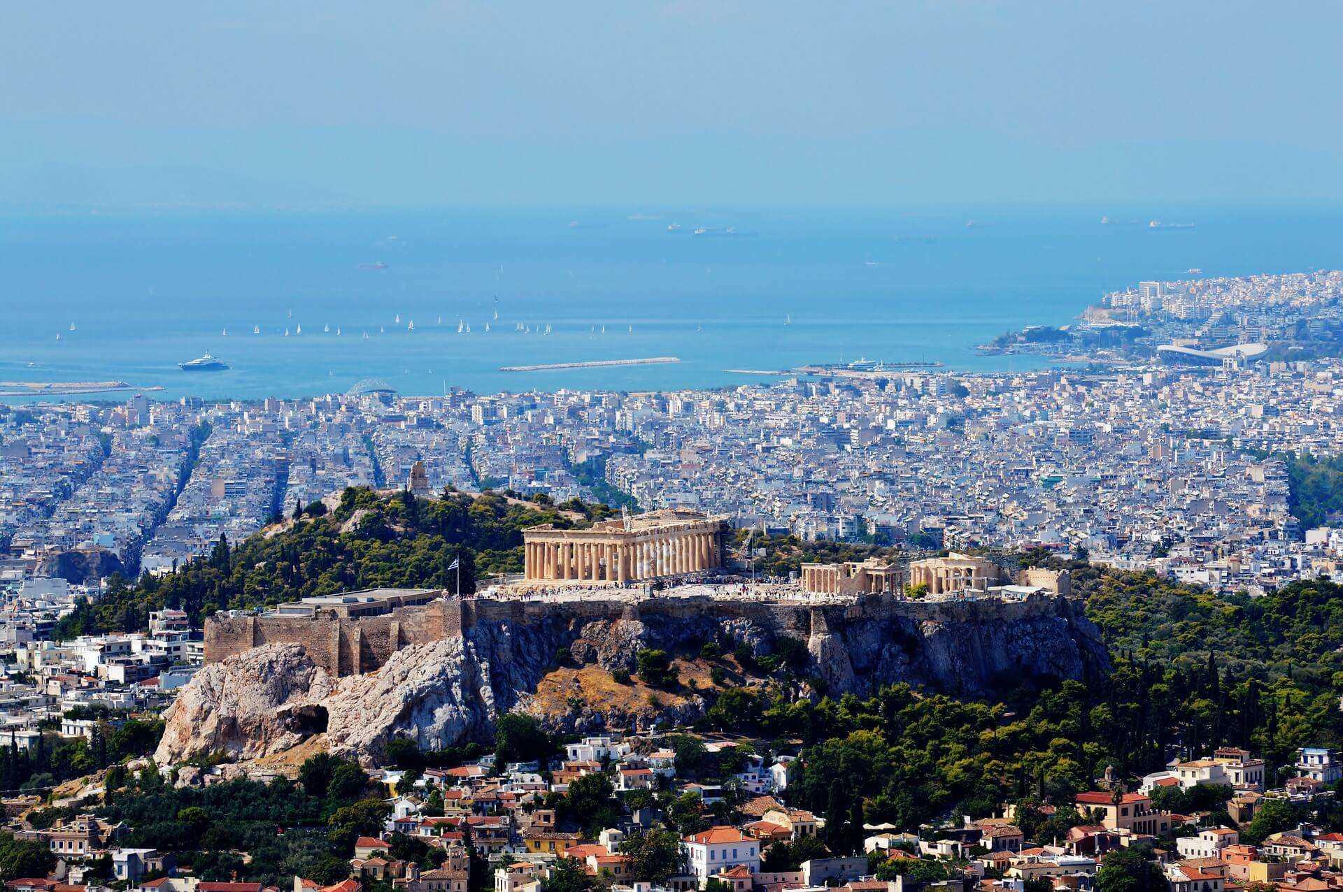 Direktflüge und Billigflüge ab Frankfurt nach Athen