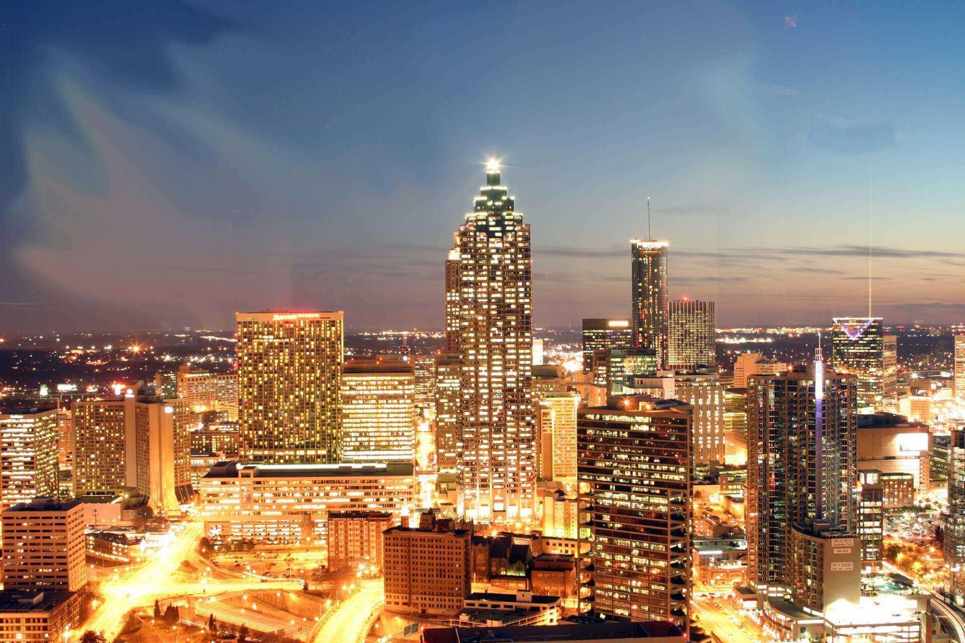 Direktflüge und Billigflüge ab Düsseldorf nach Atlanta