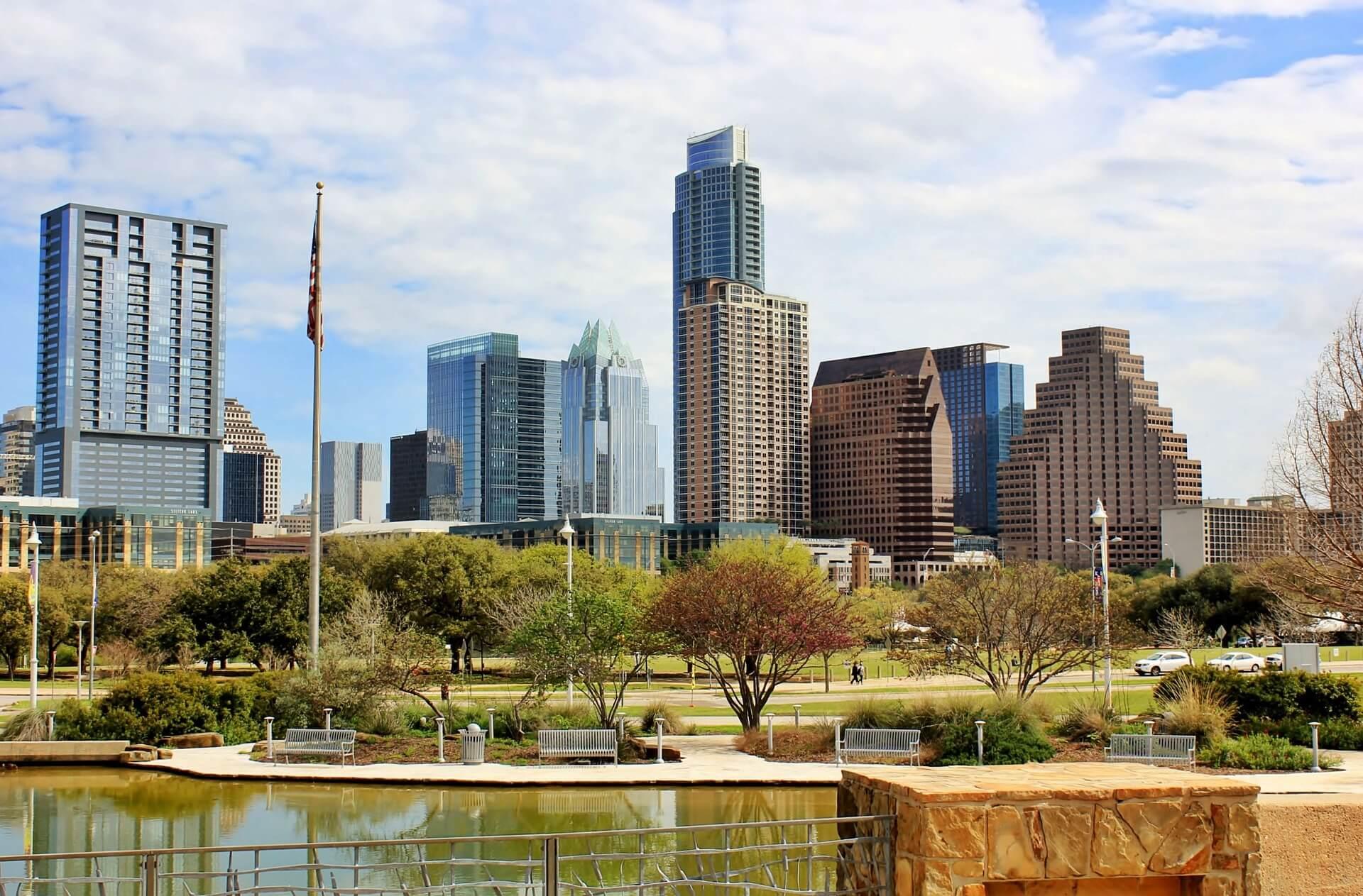 Direktflüge und Billigflüge ab Frankfurt nach Austin