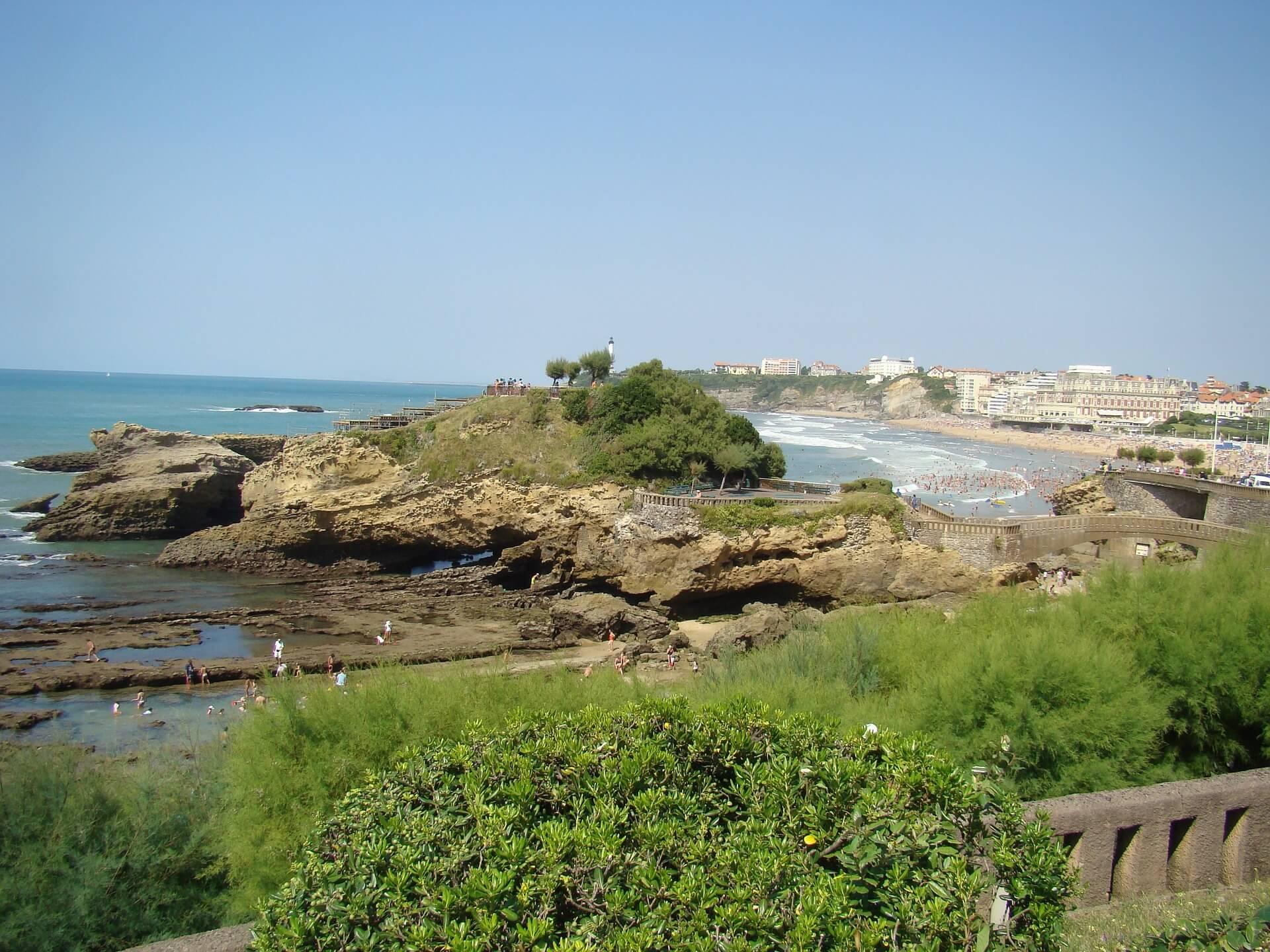 Direktflüge und Billigflüge ab München nach Biarritz