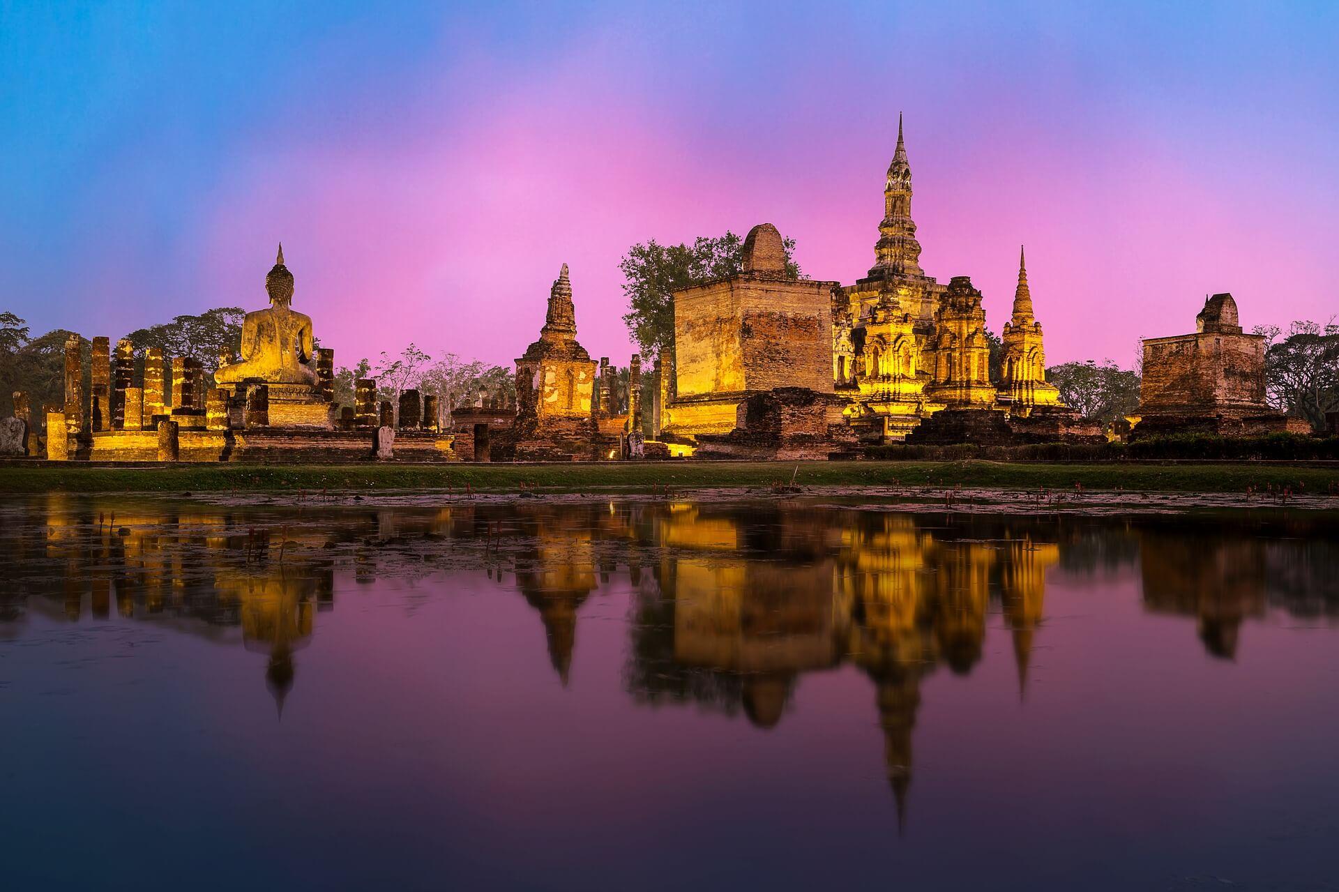 Direktflüge und Billigflüge ab Zürich nach Bangkok