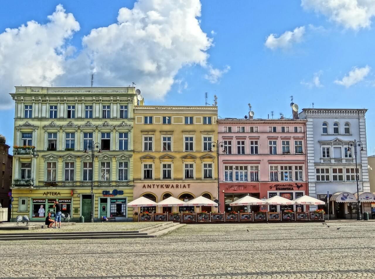 Direktflüge und Billigflüge nach Bydgoszcz