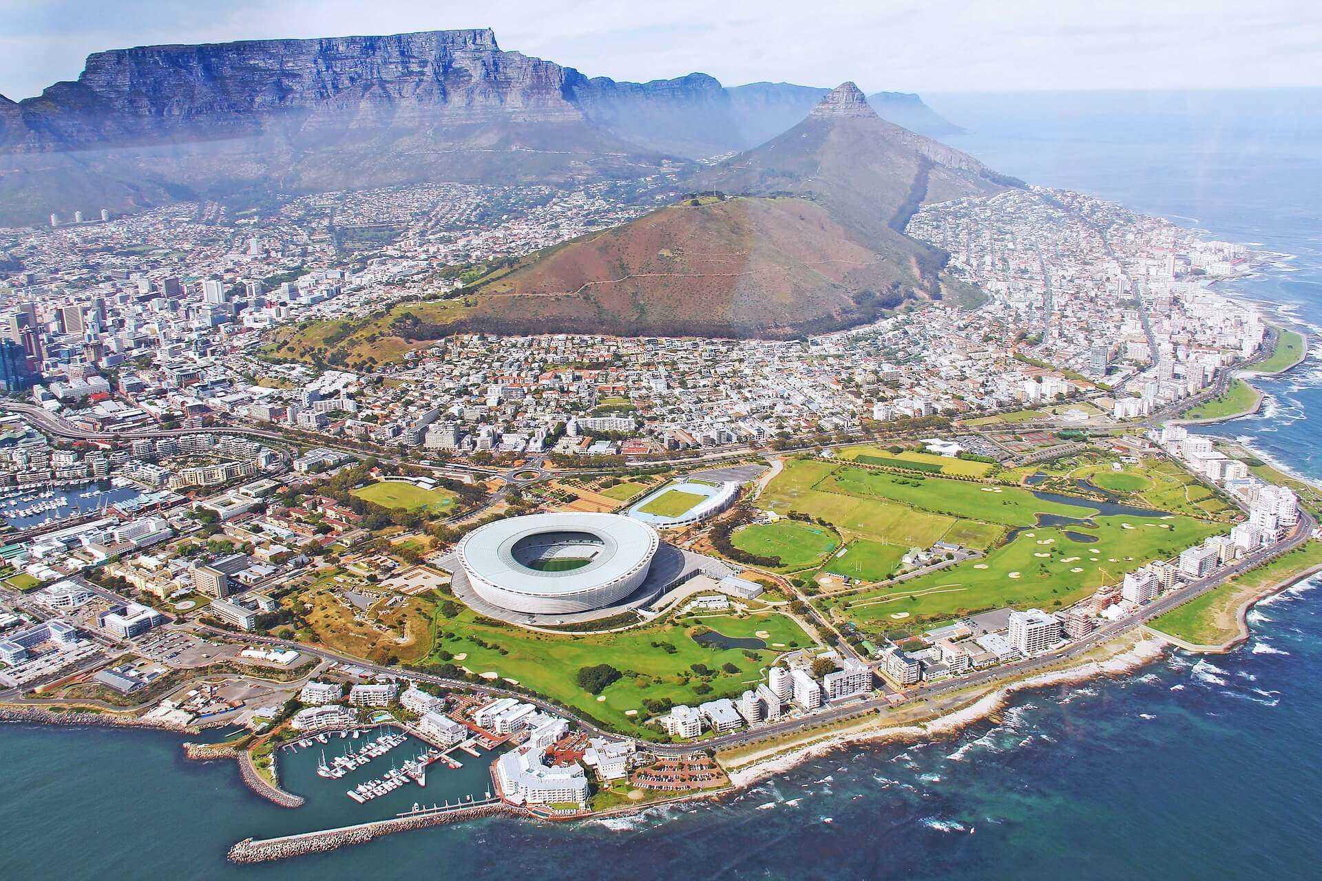Direktflüge und Billigflüge nach Kapstadt