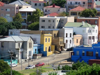 Bunte Häuser in Bo-Kaap