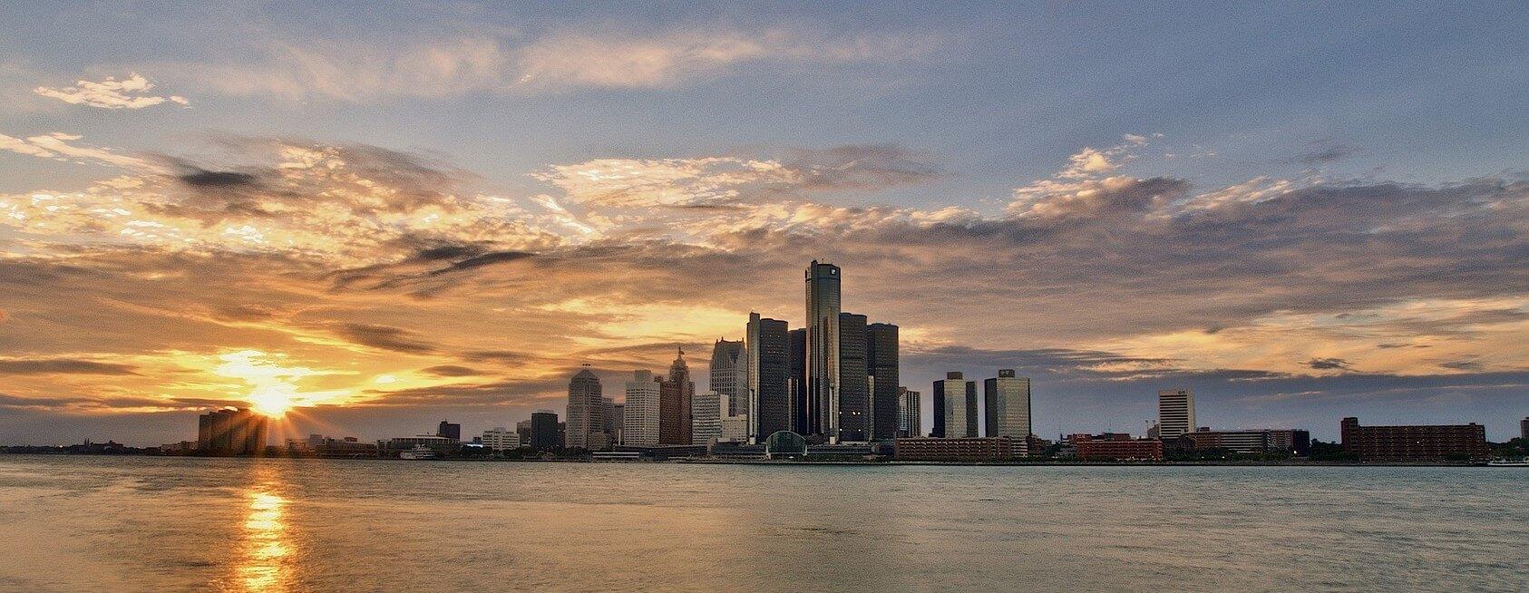 Direktflüge und Billigflüge ab Frankfurt nach Detroit