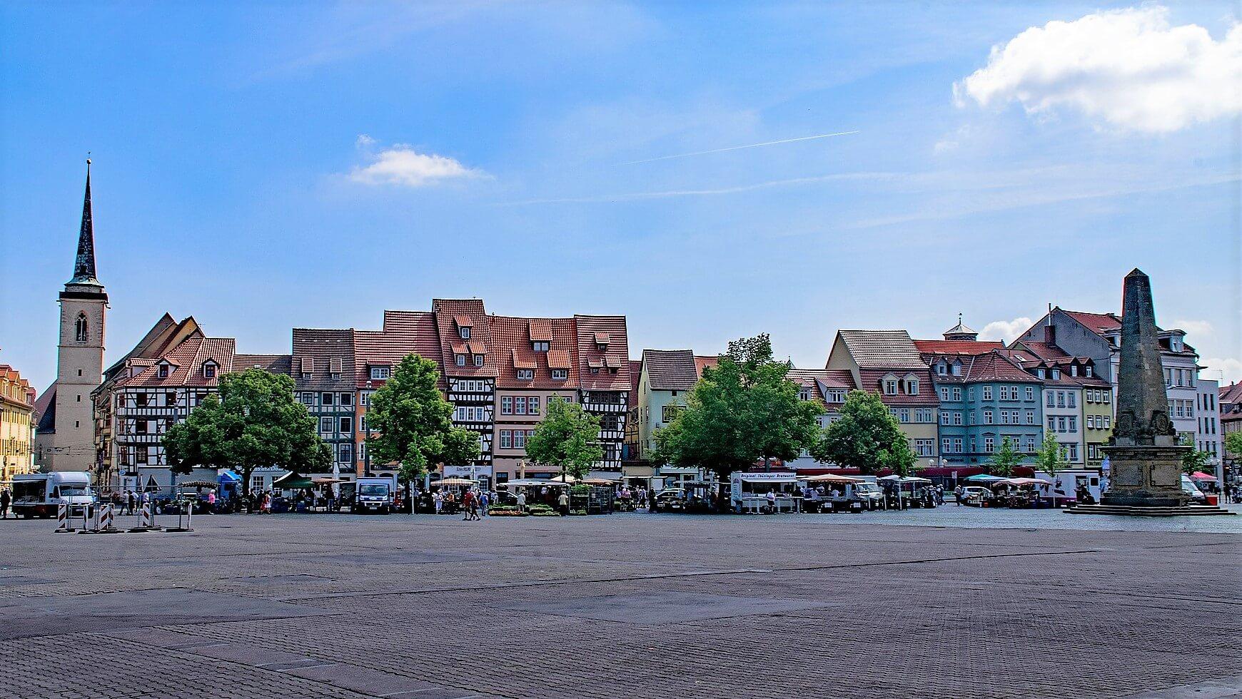 Direktflüge und Billigflüge ab Erfurt/Weimar