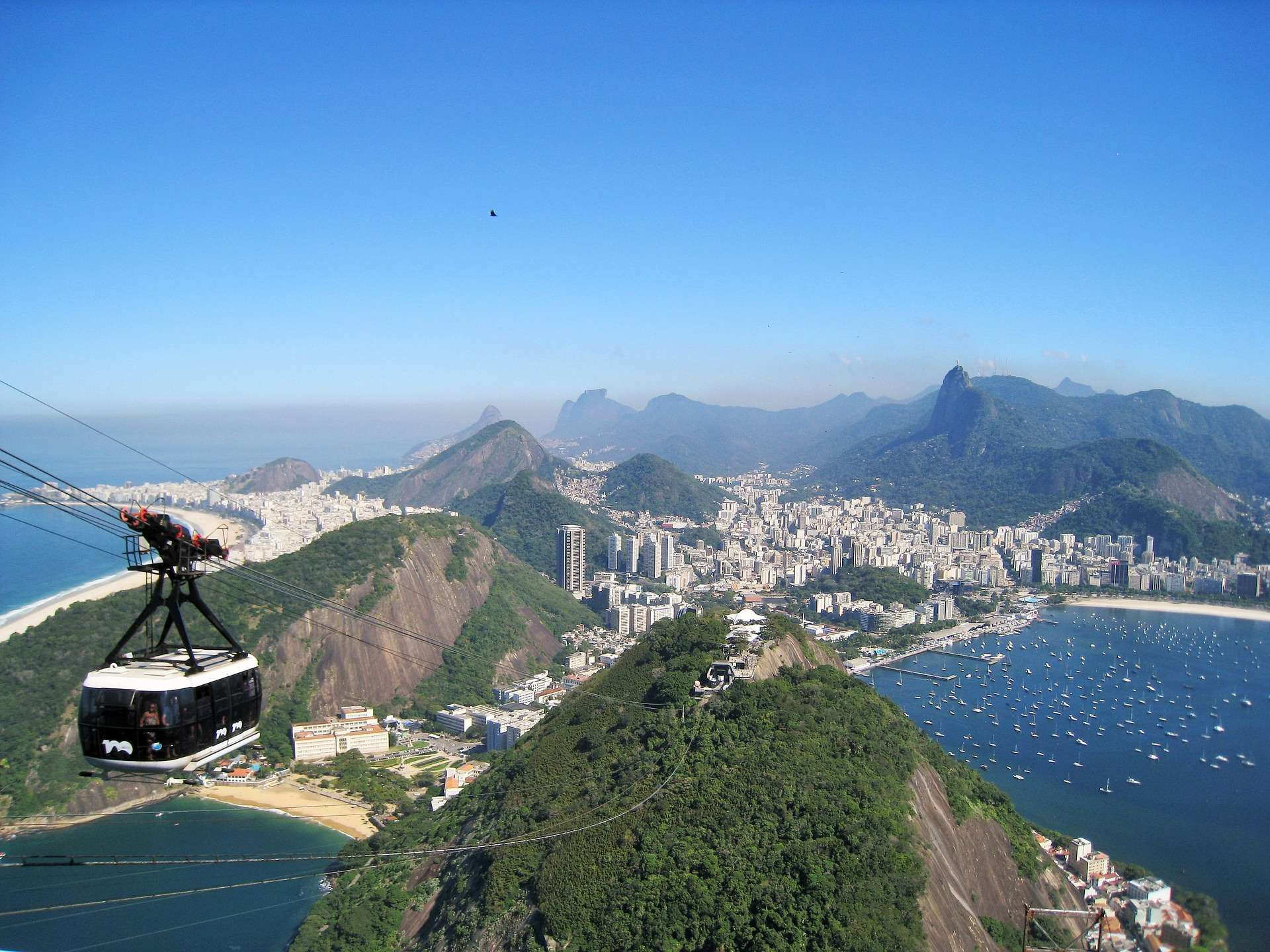 Direktflüge ab Zürich nach Rio de Janeiro