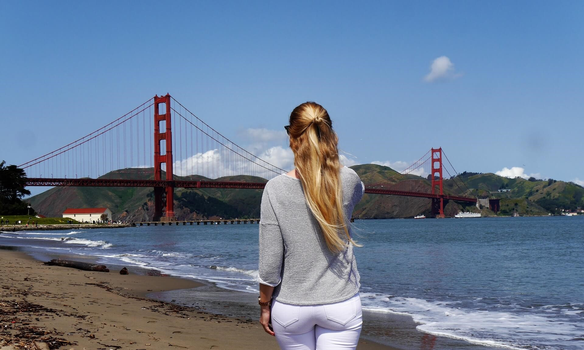Zum ersten Mal in San Francisco und Palo Alto