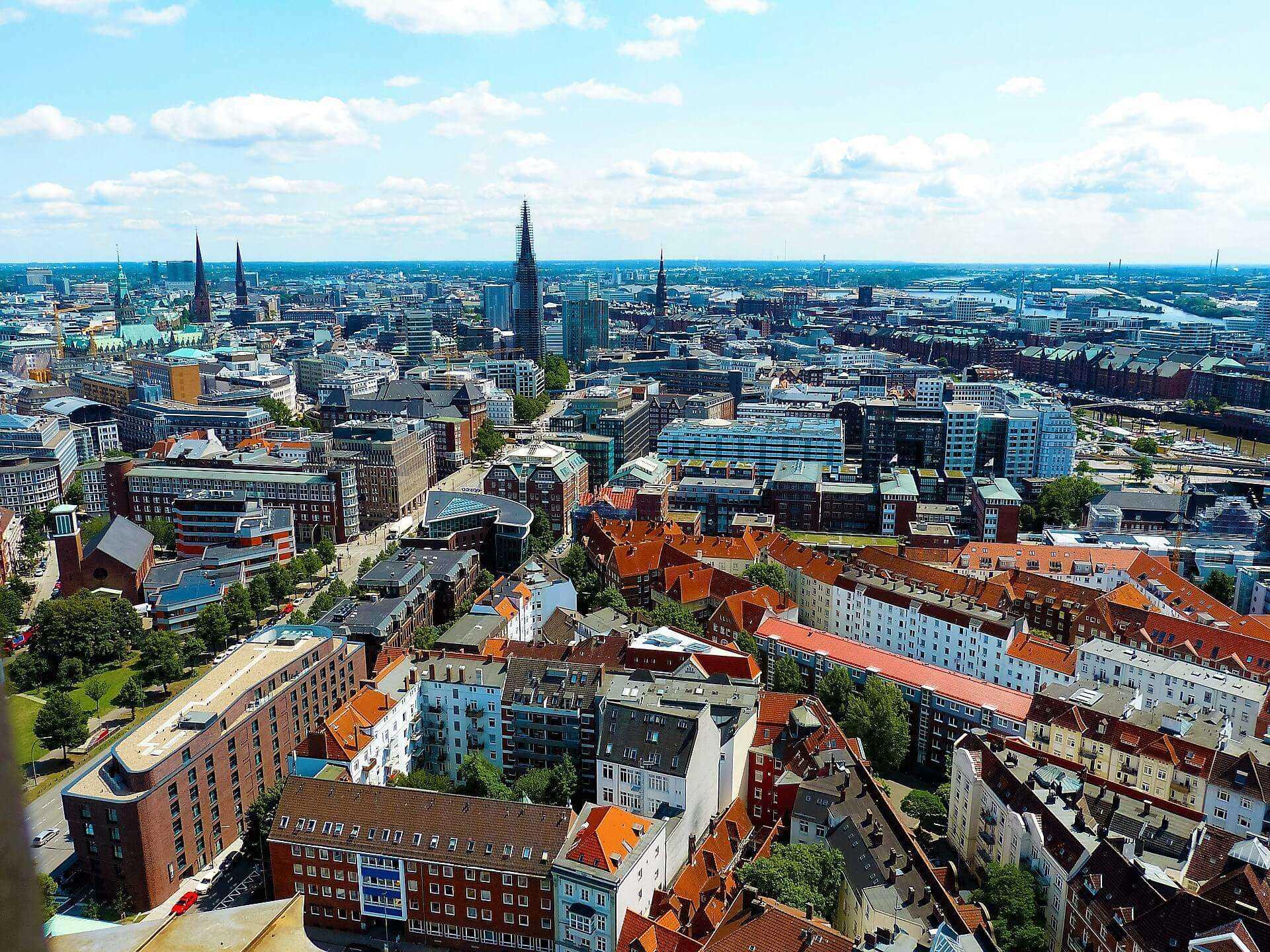Direktflüge ab Mannheim nach Hamburg