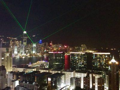 Hong Kong Skyline Lasershow