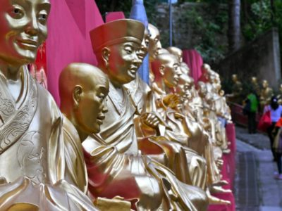 Hong Kong Tempel der 10.000 Buddhas