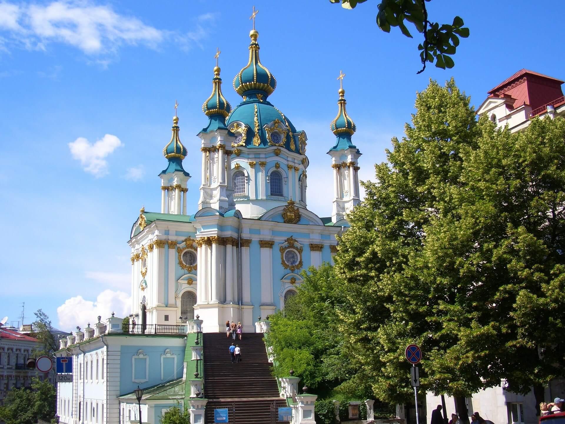 Direktflüge und Billigflüge in die Ukraine