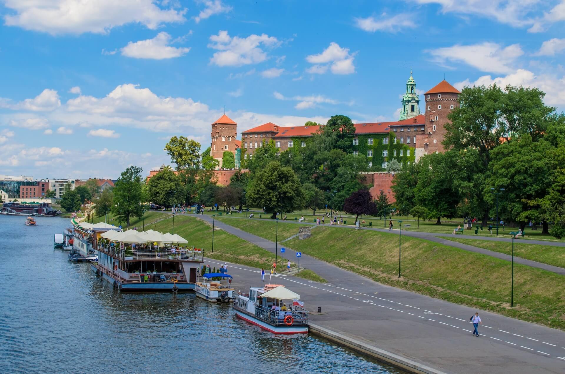 Direktflüge und Billigflüge ab München nach Krakau
