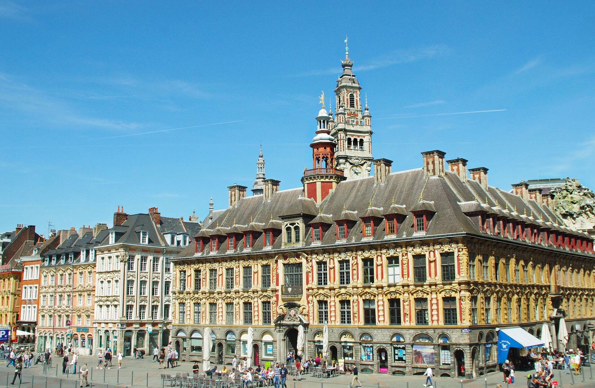 Direktflüge und Billigflüge nach Lille