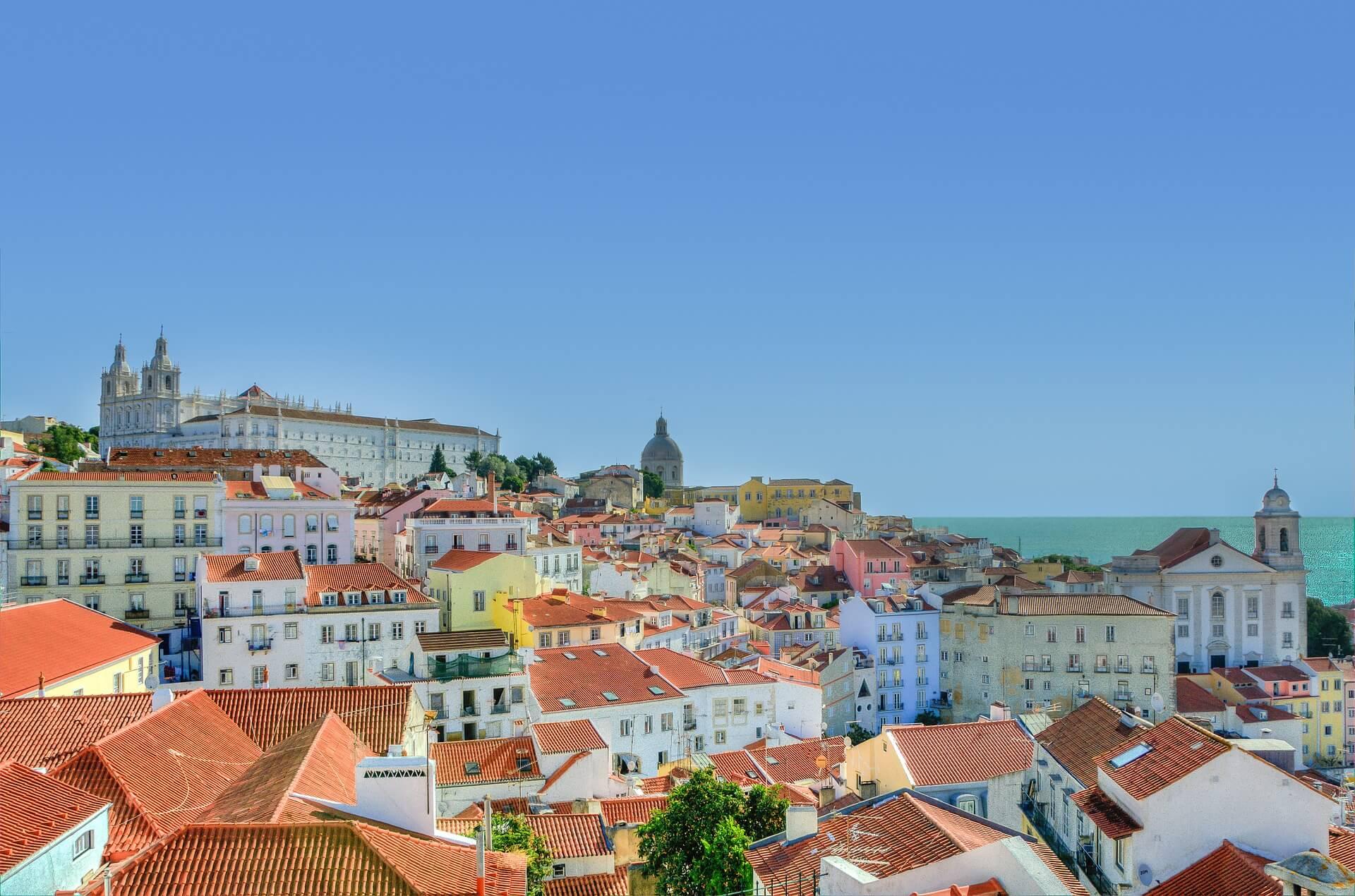Direktflüge und Billigflüge ab Frankfurt nach Lissabon