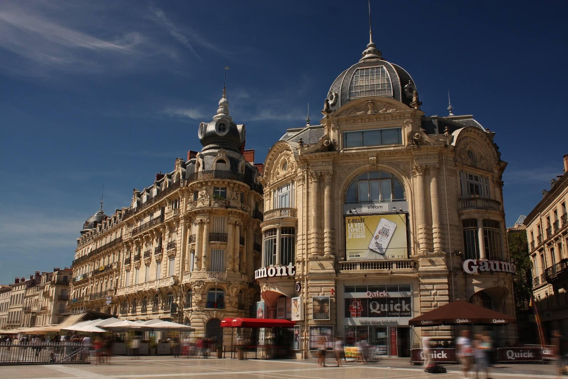 Direktflüge und Billigflüge nach Montpellier