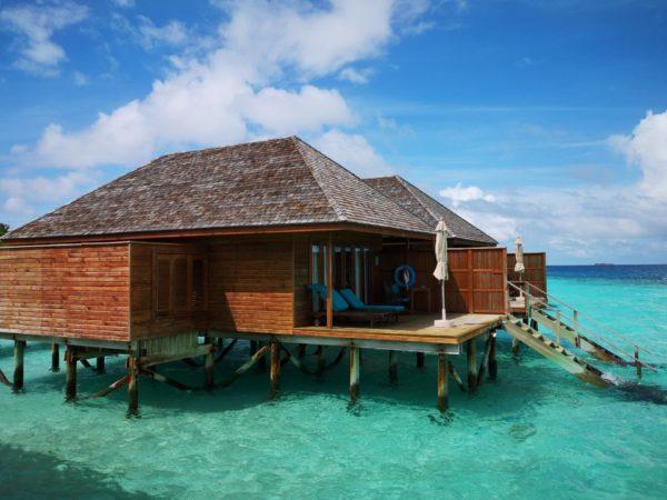 Malediven Wasser Villa