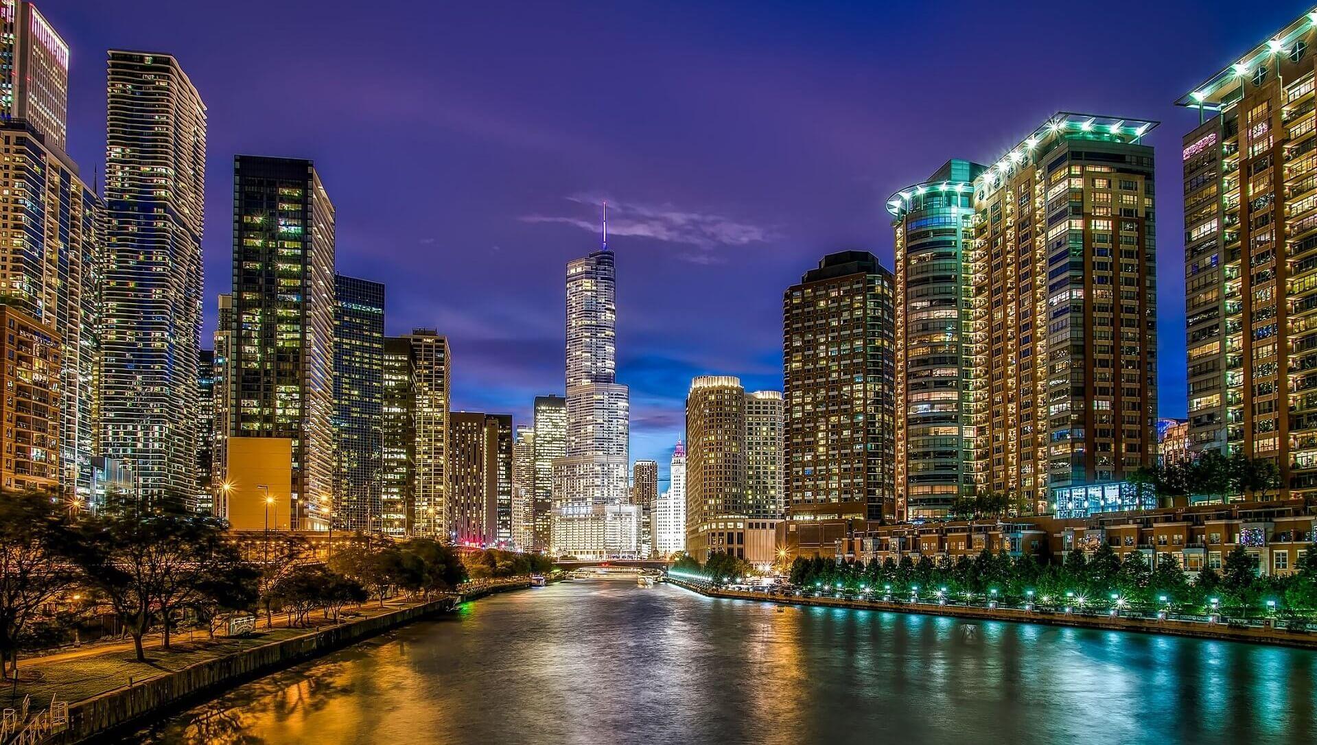 Direktflüge und Billigflüge ab Amsterdam nach Chicago