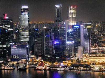 SkyBar at CÉ LA VI Singapur