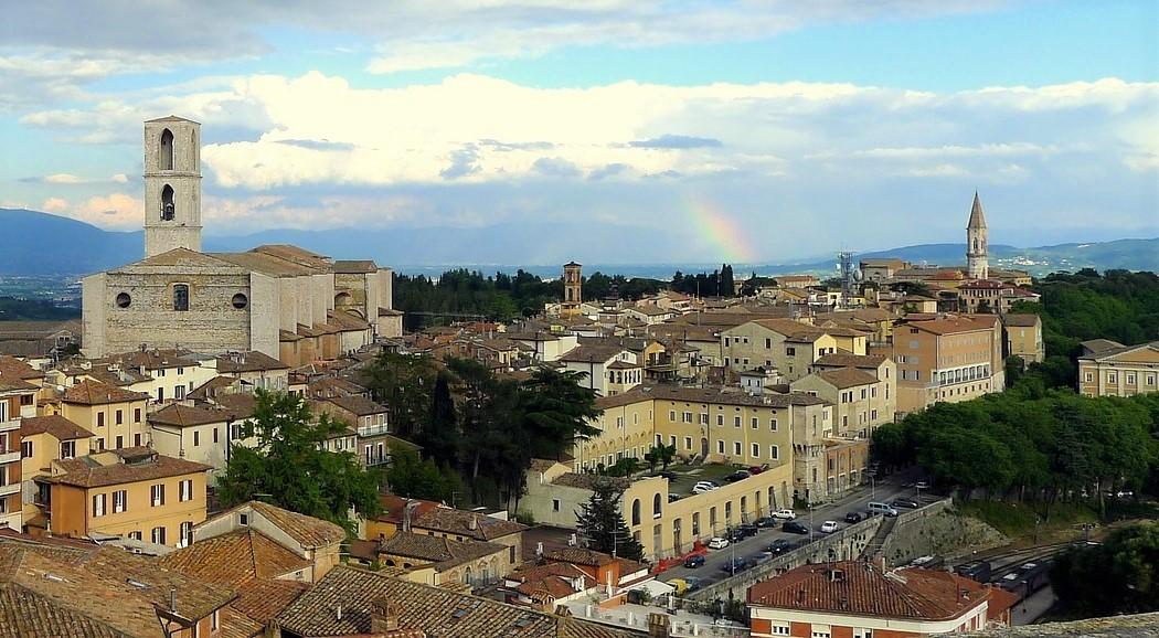 Direktflüge und Billigflüge ab Frankfurt nach Perugia