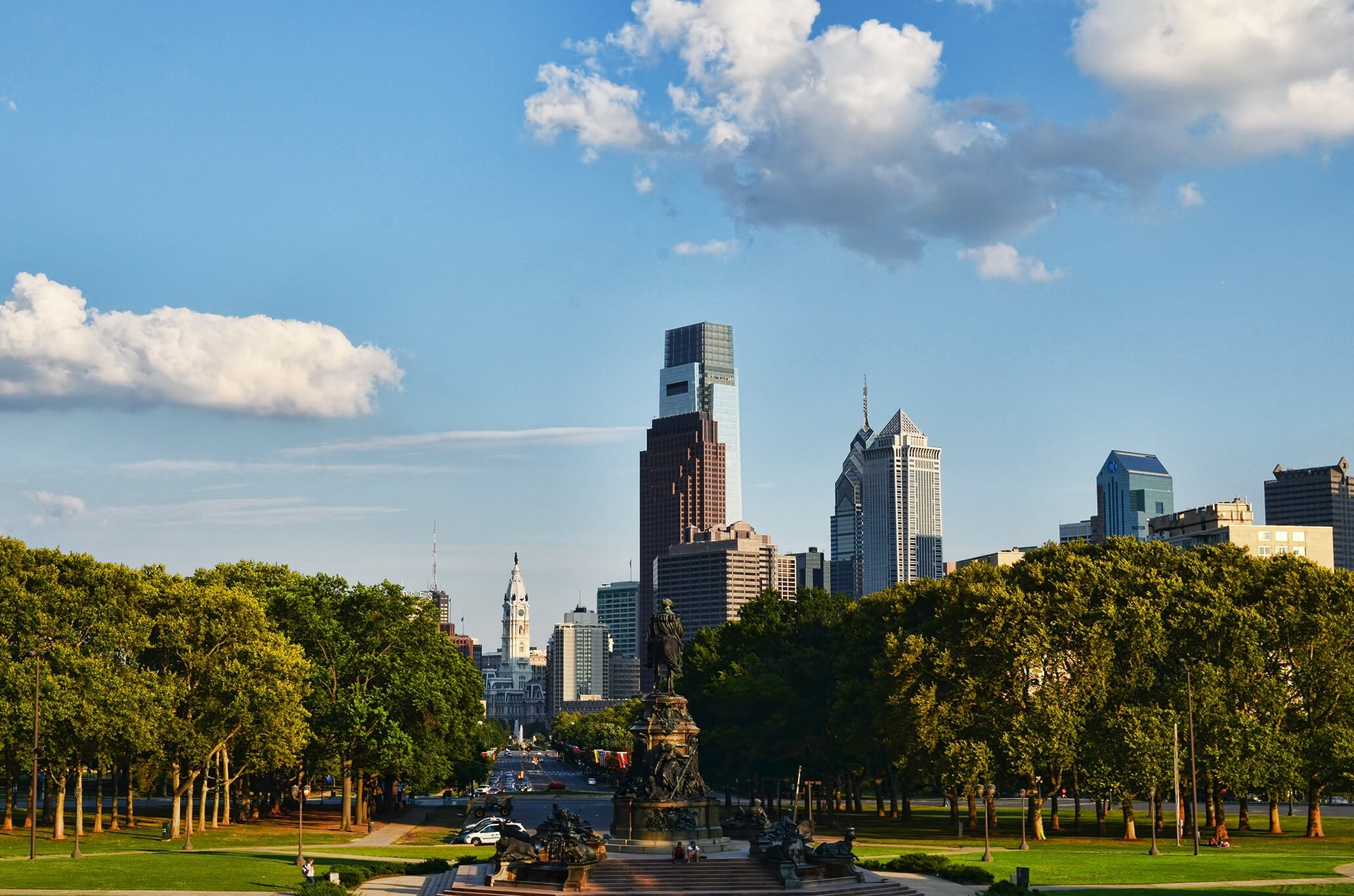Direktflüge und Billigflüge ab Amsterdam nach Philadelphia