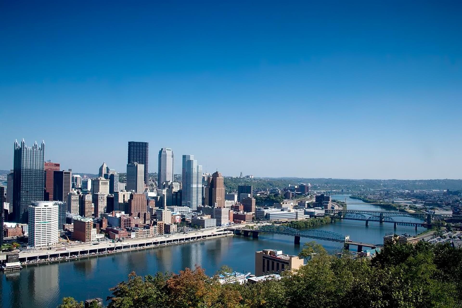 Direktflüge und Billigflüge ab Frankfurt nach Pittsburgh