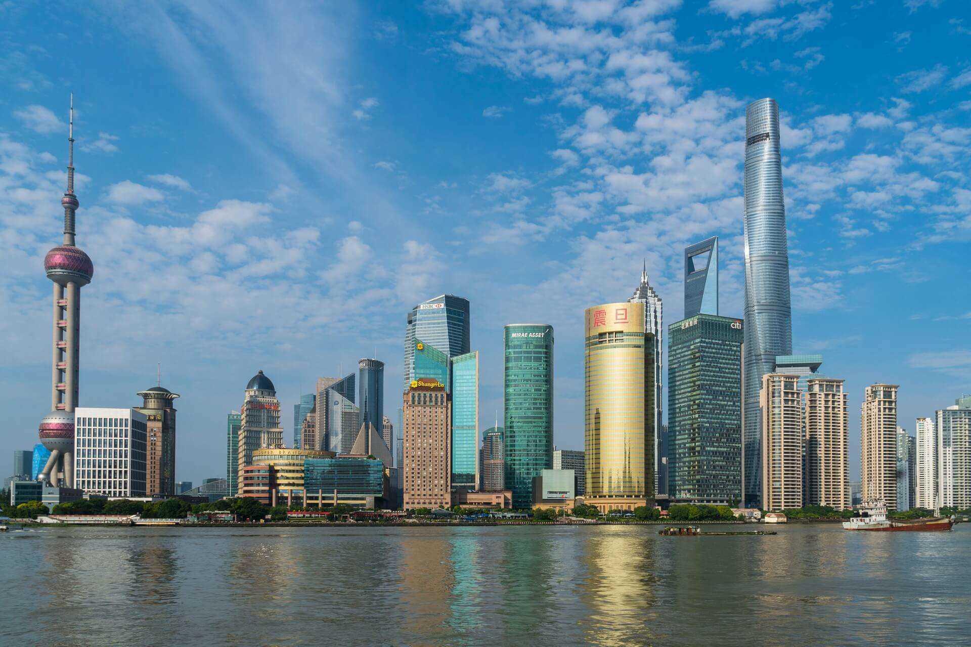 Direktflüge und Billigflüge ab Wien nach Shanghai