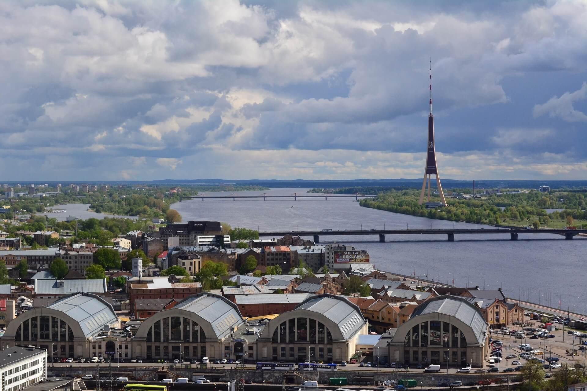Direktflüge ab Frankfurt nach Riga