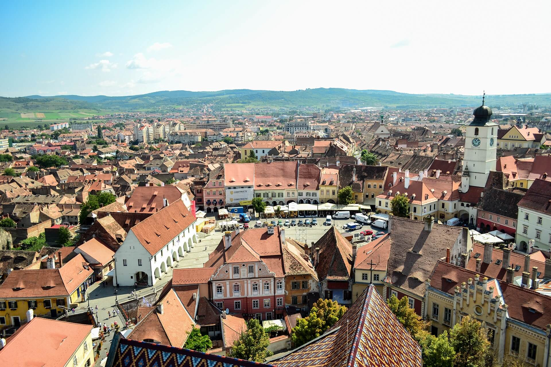 Direktflüge und Billigflüge ab Wien nach Sibiu