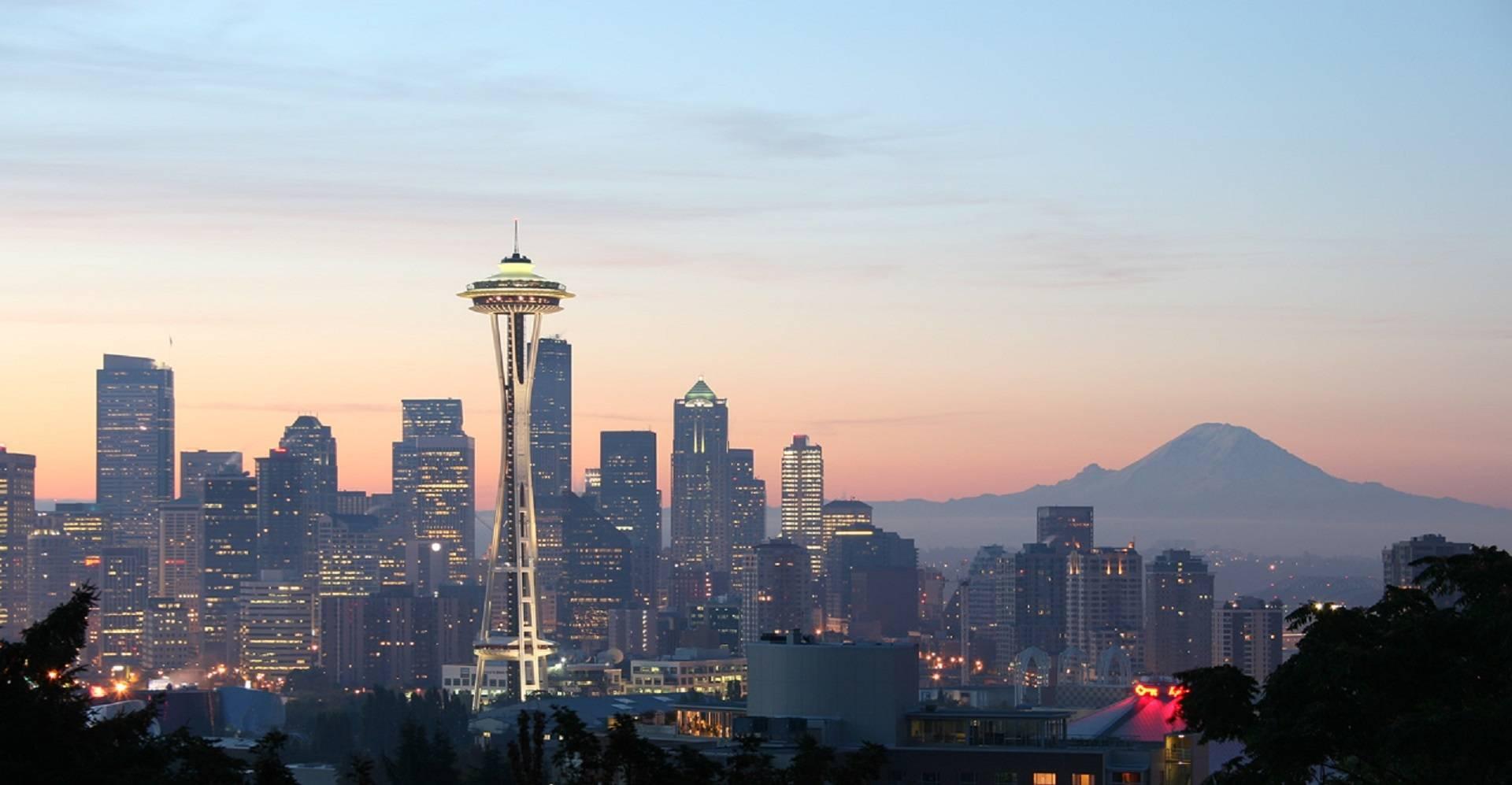 Direktflüge und Billigflüge ab Frankfurt nach Seattle