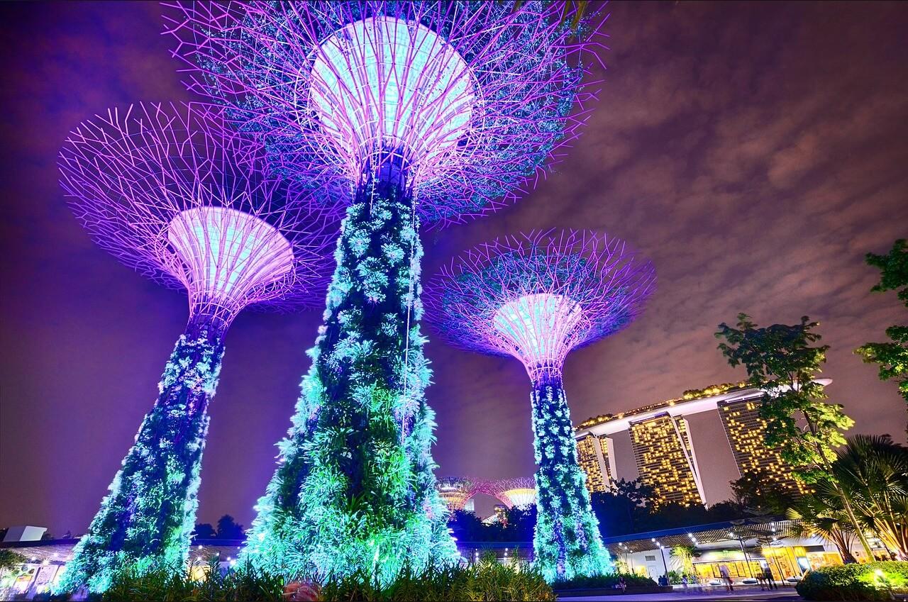 Direktflüge und Billigflüge nach Singapur