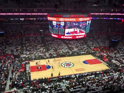 Staples Center LA Clippers