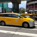 Taxi in Taipeh