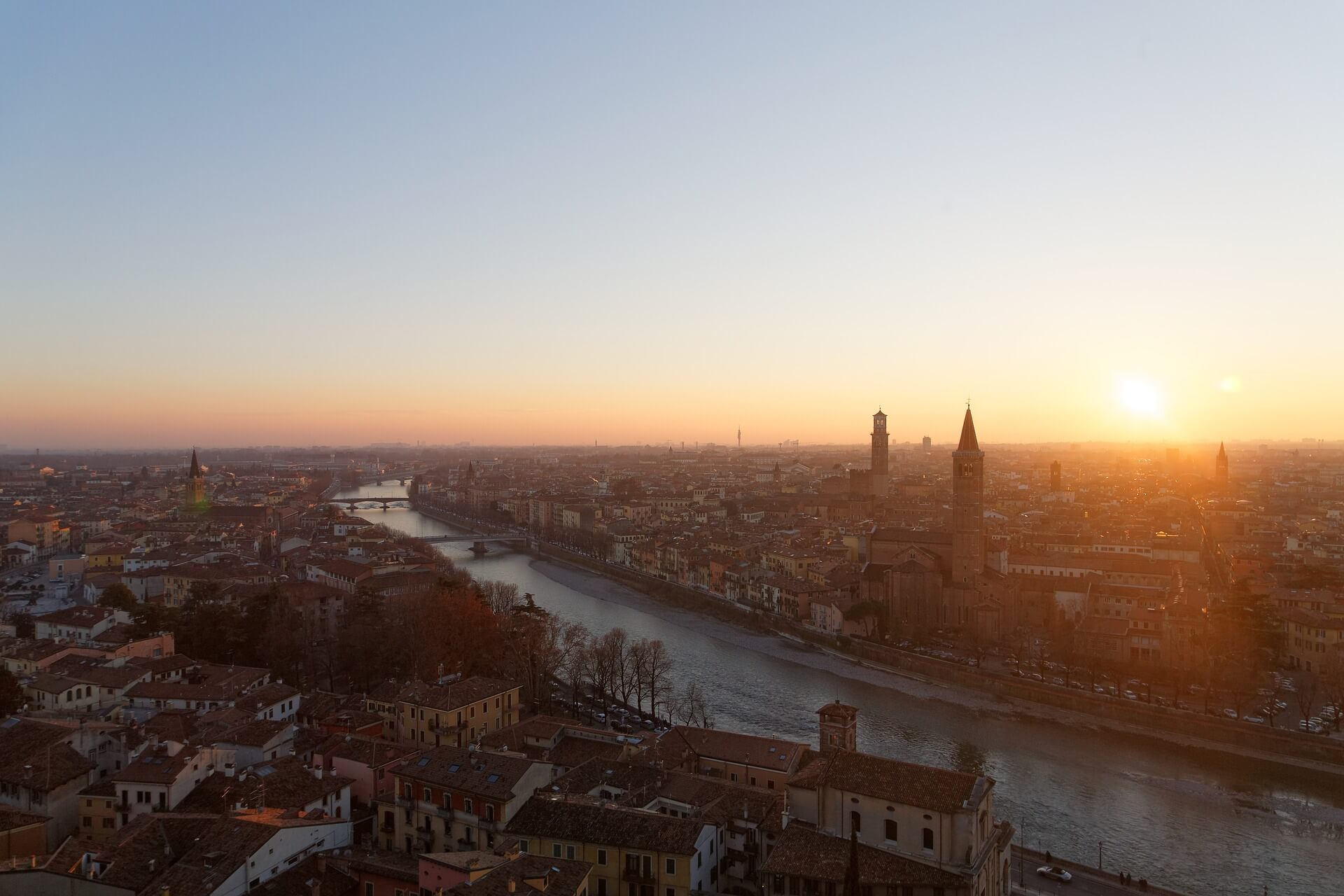Direktflüge ab Hamburg nach Verona