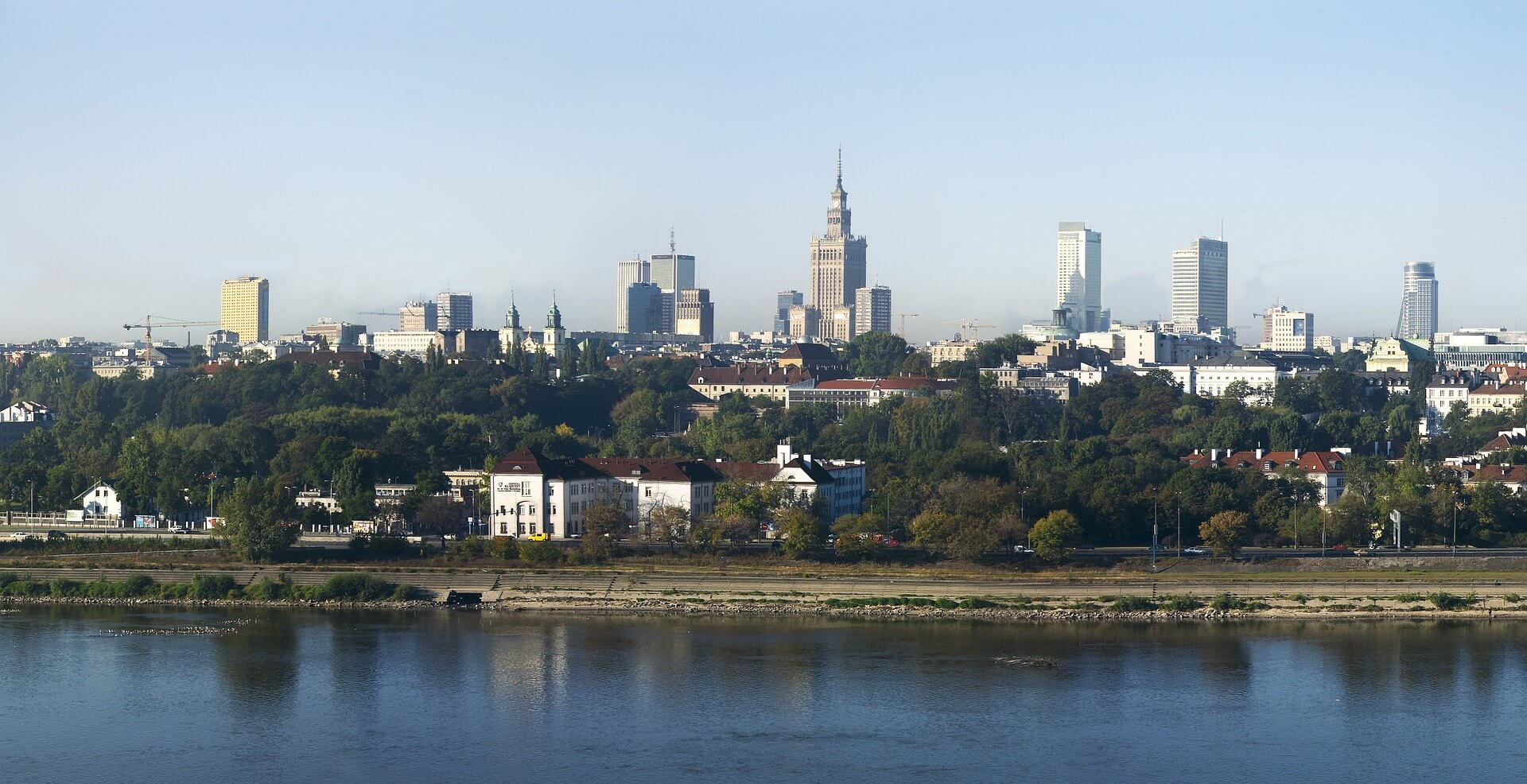 Direktflüge und Billigflüge nach Warschau