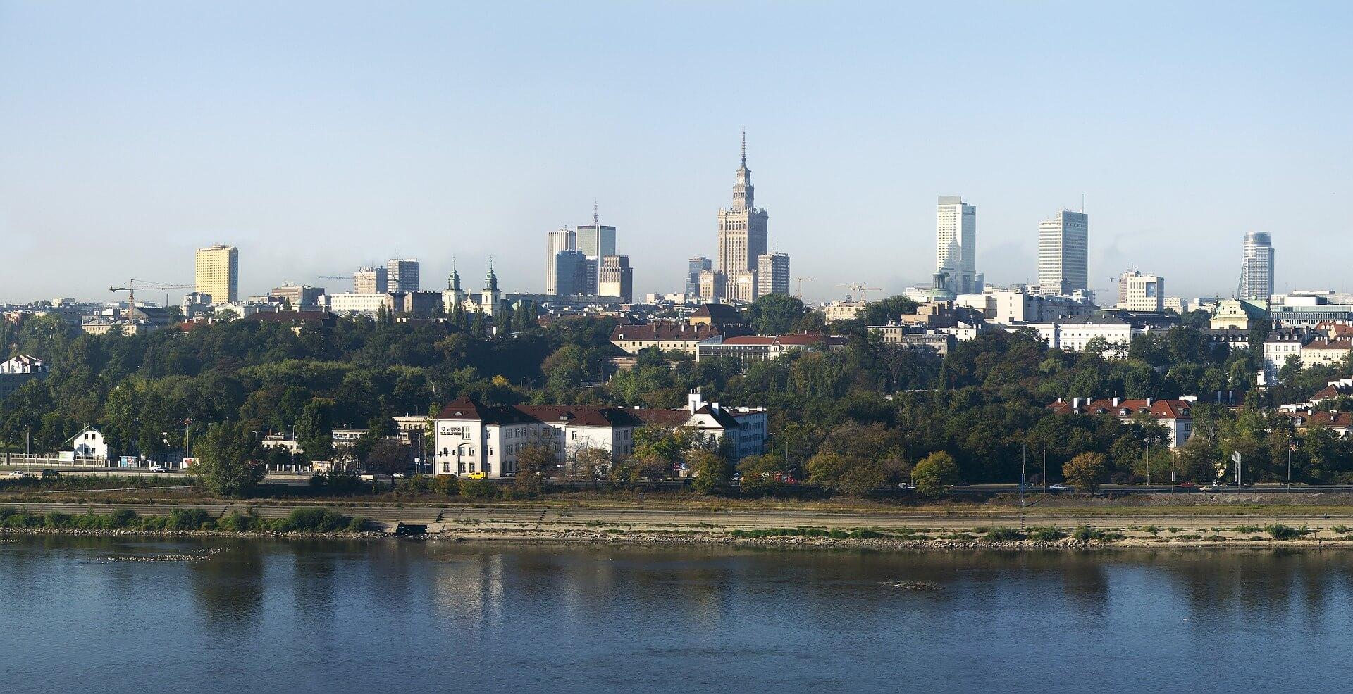 Direktflüge und Billigflüge ab Karlsruhe/Baden-Baden nach Warschau-Modlin
