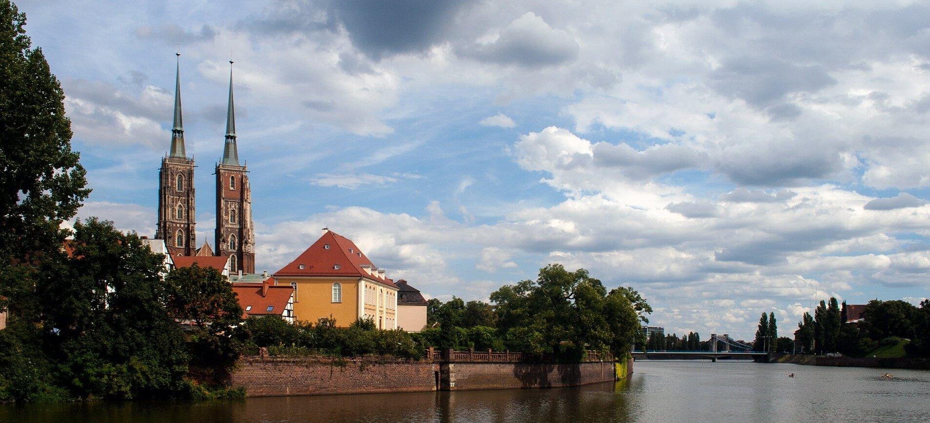 Direktflüge und Billigflüge ab Frankfurt nach Breslau