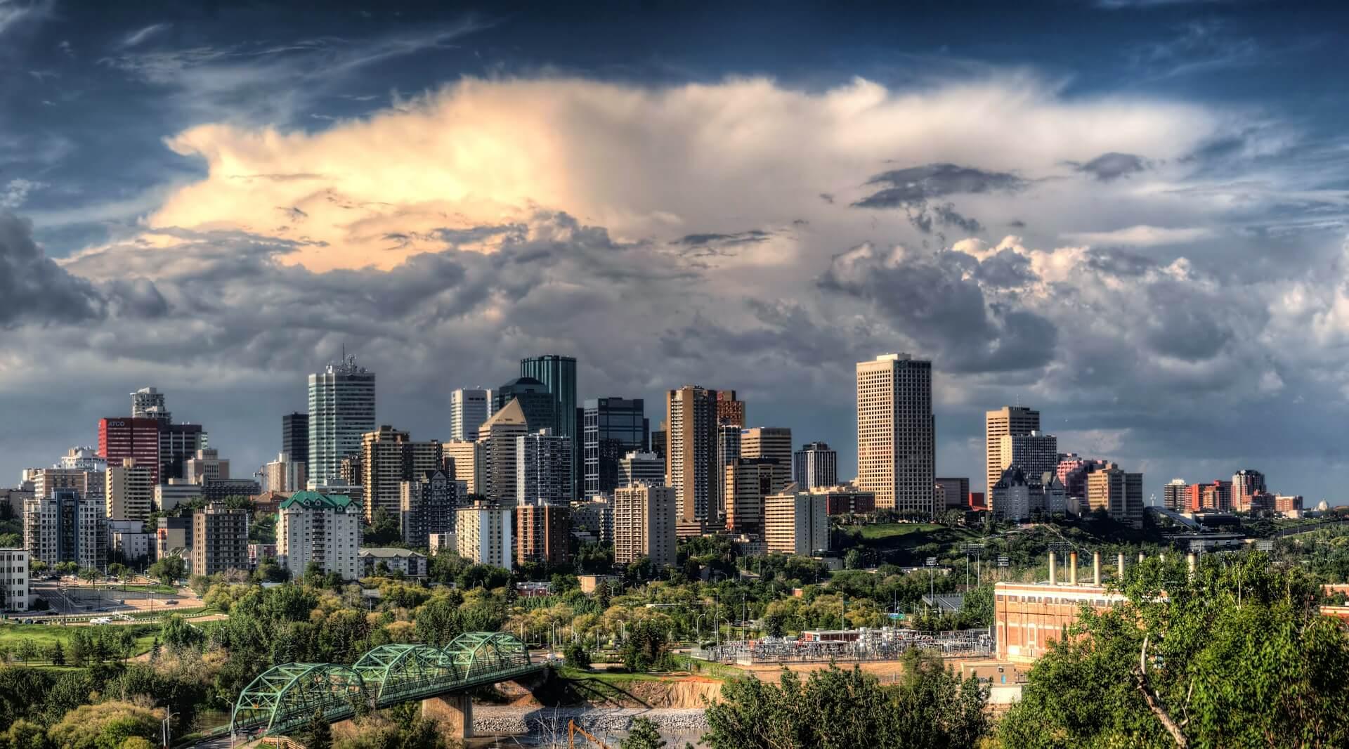 Direktflüge und Billigflüge nach Edmonton
