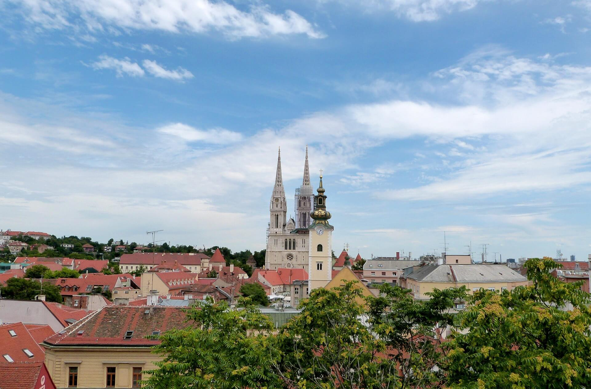 Direktflüge und Billigflüge ab Frankfurt nach Zagreb