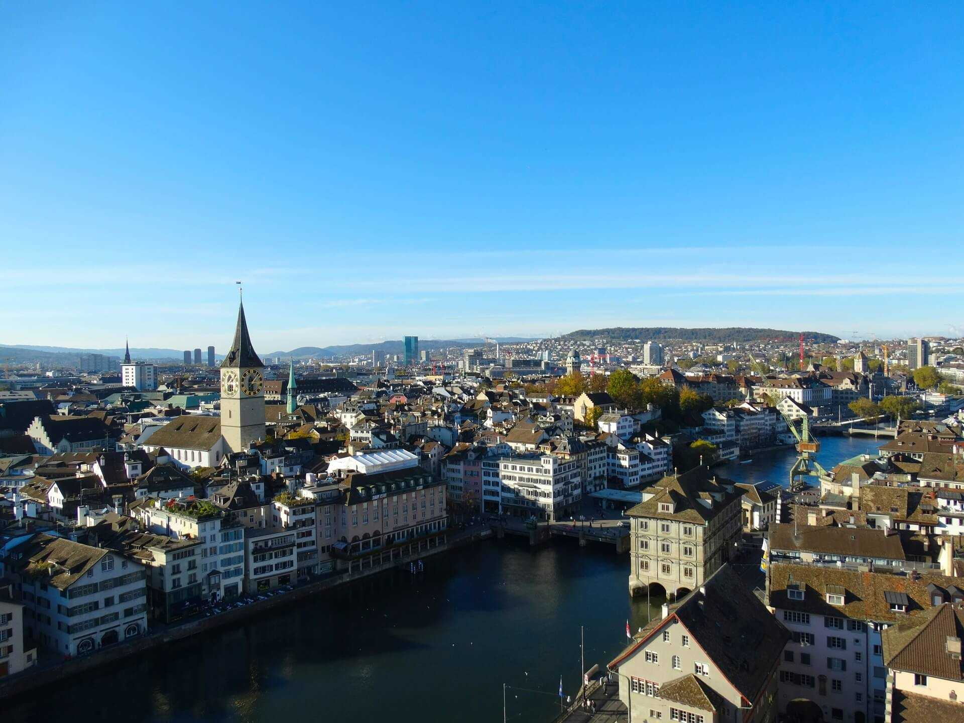 Direktflüge und Billigflüge ab Hamburg nach Zürich